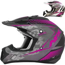 motocross helmet with face shield afx fx 17 factor womens mx atv dirt bike off road motocross