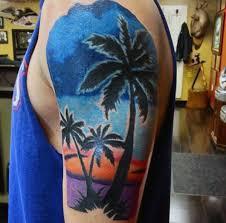 100 palm tree tattoos for tropical design ideas