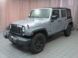 jeep unlimited green 2015 used jeep wrangler unlimited 4wd 4dr willys wheeler at north