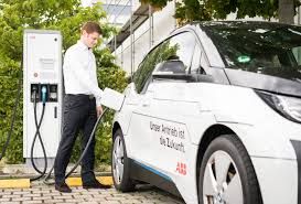 electric cars charging abb drives the expansion of e mobility fast charging