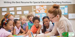 Writing The Best Resume by Resume For Special Education B Jpg