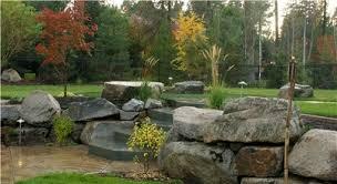 Big Rock Garden Well Suited Big Rock Landscaping 25 Garden Designs Ideas For Front