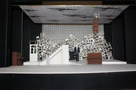 the model box of the set from our 2010 production of one night in