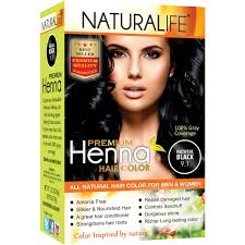 naturalife henna natural hair color for men u0026 women natural black