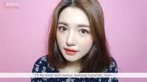 makeup tutorial korean style natural look 2016 eng 퍼플 포인트 메이크업 purple point makeup makeup you