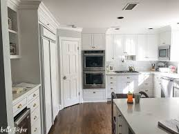blue gray painted kitchen cabinets blue and white two toned kitchen cabinets tucker