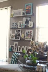decorating with pictures easy diy picture ledges a and a