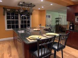 island ideas for kitchens kitchen island chairs hgtv