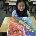 california map project ms henner s class archive california relief map project
