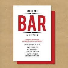 stock the bar shower invitation stock the bar invitation template