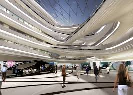 zaha hadid architects project the circle at zurich airport