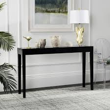 White Lacquer Sofa Table by Fox4204c Consoles Furniture By Safavieh