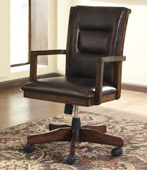Wooden Office Desk by Signature Design By Ashley Devrik Home Office Desk Chair With