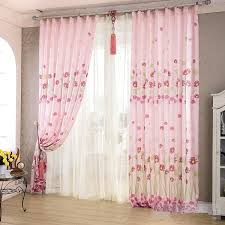 Light Pink Window Curtains Alluring Light Pink Window Curtains Designs With Light Pink Window