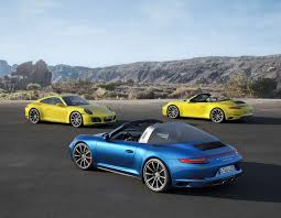new porsche 911 carrera 4 and 911 targa 4 for 2016 elite traveler