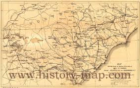 Atlanta Ga Map March Through Georgia