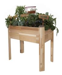 herb garden planter box decoration enchanting elevated garden planter for herb