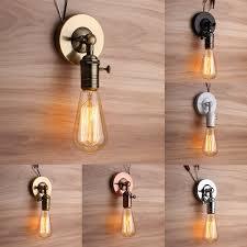 Light Bulb Ceiling Light E27 E26 Modern Edison Vintage Ceiling Light Wall L Bulb Holder