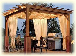 Pergola With Curtains 1000 Ideas About Pergola Curtains On Porch Curtains
