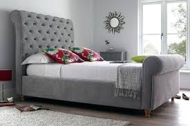 Grey Sleigh Bed Grey Beds Bosli Club