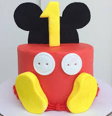 the 25 best baby mickey mouse cake ideas on pinterest baby