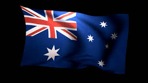 Australia Flags 3d Flag Of Australia Waving In The Wind Stock Video Footage Hd