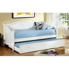 Pull Out Daybed White Wood Daybed Trundle