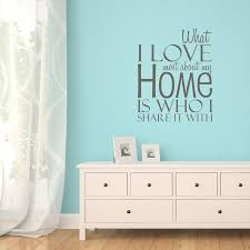 home wall love my home quote wall sticker by mirrorin notonthehighstreet com