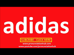 how to pronounce adidas youtube