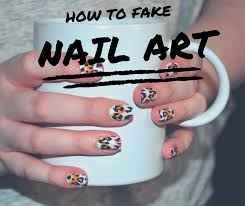how to fake nail art as told by ash and shelbs