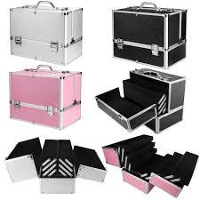 large space storage beauty box make up nail jewelry cosmetic