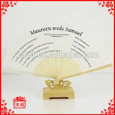 personalized fans cheap plain blank diy program wedding silk fans personalized