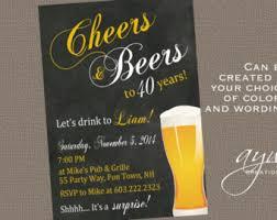5x7 cheers u0026 beers party invitation editable by mydiydesigns