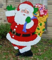 my business yard santa cowboy fireman