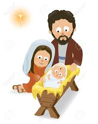 baby jesus mary and joseph royalty free cliparts vectors and