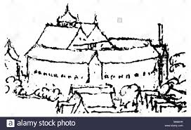 the globe theatre wenceslaus hollar sketch made by the bohemian