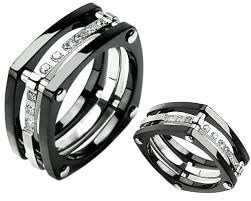 black wedding rings for men in black wedding rings with diamonds for men and much admired