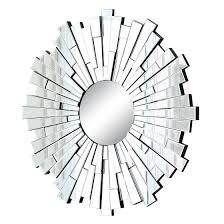 Wall Mirrors Target by Abbyson Andre Round Mirror Light Silver Round Mirrors
