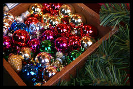 box of ornaments pictures photos and images for