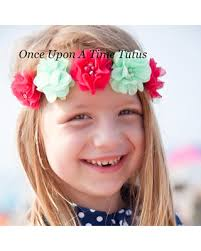 hippie flower headbands find the best deals on mint hot pink pearl flower crown halo