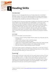 reading skills pdf