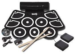 power window switch kit amazon com rockjam electronic roll up midi drum kit with built in