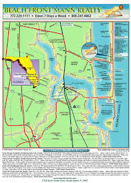 Stuart Florida Map by Beach Front Mann Realty U0026 Management Maps Of Hutchinson Island