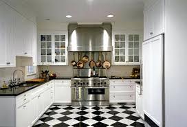 White Kitchen Floor Ideas Floor Tiles For White Kitchen Black And White Kitchens Floor Tile