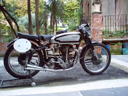 norton gardengate 350cc production 1947 long stroke engine