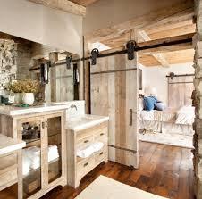 Master Bedroom Wall Paneling Extraordinary Geometric Area Rug Also Log Wall Panel Idea Feat