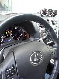 lexus is 250 dash aftermarket gauges pod lexus is forum