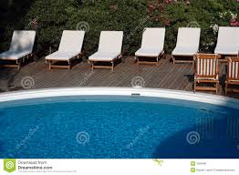 top swimming pool lounge chair with swimming pool outdoor