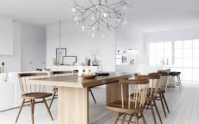 decoration exclusive scandinavian style interior design with long