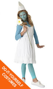 Smurfette Halloween Costume Diy Smurfette Costume Goodwill Easter Seals Minnesota
